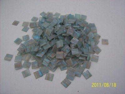 1 kg Glasmosaik Goldregen Mosaik grau-blau -31- von Mosaikpalast24 bei TapetenShop