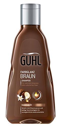 Guhl Braun Faszination Shampoo - 2er Pack (2x 250 ml) - mit Kukuinuss-Öl - Geschmeidigkeit für ein...