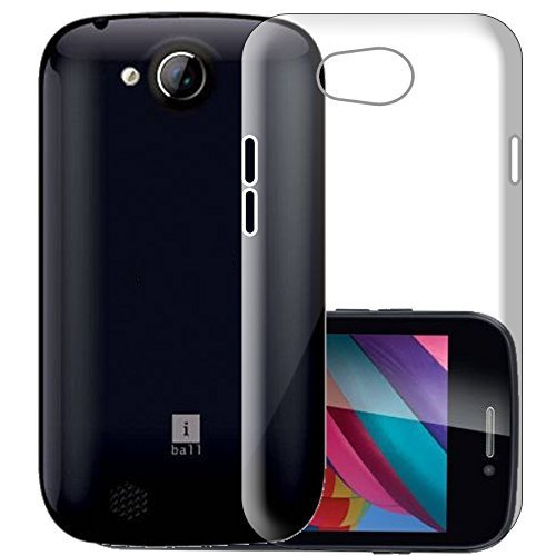 WTF Back Case, Lightweight,Shock Absorbing Transparent Soft Back Case Cover For iBall Andi 3.5 KKe Genius 2  available at amazon for Rs.184