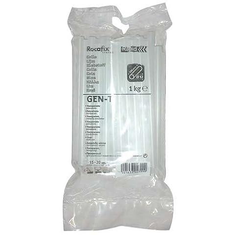 Rapid Gen-T Transparent Hot Glue Sticks, Diameter: 12 mm, Length: 190 mm, 1 Kg, PRO, 40302799