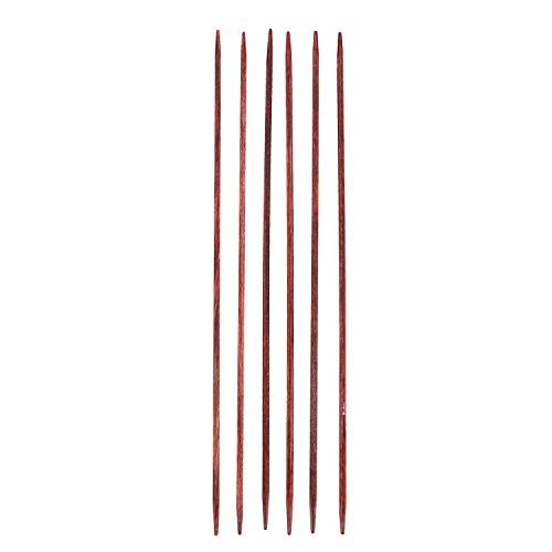Cubics-Holznadelspiel, Stärke 2,5; (Länge 15cm) Neuheit!!! - Quadratische Nadeln von KnitPro!!! -
