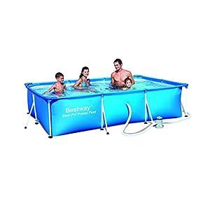 Bestway 'SPLASH Junior Steel Frame Pool with Filter Pump NL