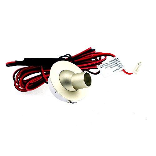 Tony Power LED Einbauspot 3000K Warmweiß - [LED Einbaustrahler, Einbauleuchte, Deckenspot, Decken Einbaulampe, LED Einbauleuchten, Ultra Flach, Möbelleuchte, Lampe für Bad, Wohnzimmer, Schlafzimmer] (Nur die Leuchte)