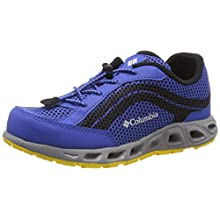 Columbia Youth Childrens Drainmaker IV Multi-Sport Shoe, Blue (Stormy Blue, Deep Yellow 426), 6 UK