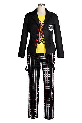 Preisvergleich Produktbild Persona 5 V Persona5 Sakamoto Ryoji Protagonist Coat Outfit Attire School Uniform Suit Cosplay Kostüm Herren Maßanfertigung