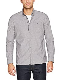 TOM TAILOR Herren Freizeithemd Floyd Colournep Chambray Shirt