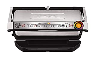 Tefal GC722D40 Optigrill Plus X-Large Grill with 9 Automatic Settings and Cooking Sensor, Stainless Steel, Non Stick Removable Plates (B079T64DX7) | Amazon price tracker / tracking, Amazon price history charts, Amazon price watches, Amazon price drop alerts