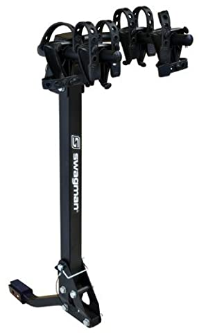 Swagman Trailhead 2 Bike Fold Down Rack (2 & 1 1/4 Receiver) by Swagman Bicycle Carriers