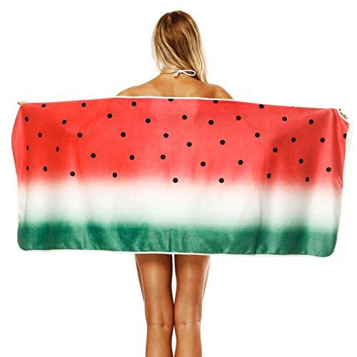 Moda Mujer Baño Toalla De Playa Albornoces Creativo