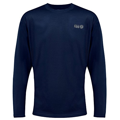 time-to-run-mens-favourite-long-sleeve-running-gym-t-shirt-top-large-42-45-navy