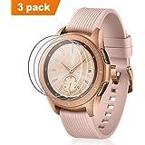 Circle für Samsung Galaxy Watch 42mm Panzerglas (3 Pack),Transparent HD Kratzfest Anti-Bubble Display Schutz für 42mm Samsung Galaxy Uhr SM-R810/SM-R815 Smart Watch