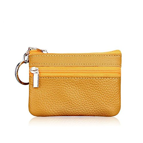 Cartera monedero unisex amarillo