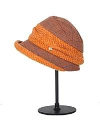 Categoría sombreros de mujer, Señoras otoño/invierno Sombrero Sombrero de invierno gruesa,Albaricoque