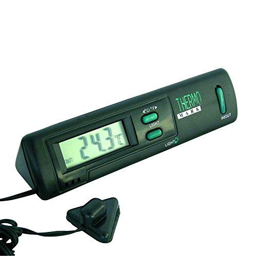 Carpoint 1121211 Innen/aussen Thermometer schwarz