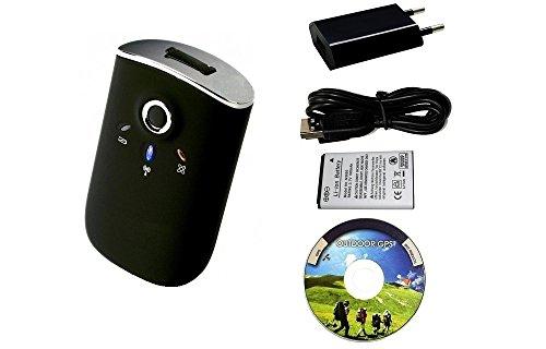 GT-750FL Bluetooth GPS Receiver mit Datenlogger Funktion / neue SiRF IV Chipsatz und CanWay Software