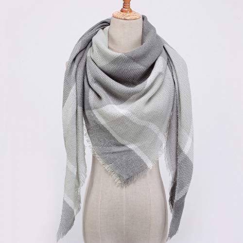 Ztweijin Designer Donne Sciarpa Moda Plaid Sciarpe Inverno Caldo Signora Scialle AvvolgenteCollo diMarca di LussoBandana, z26
