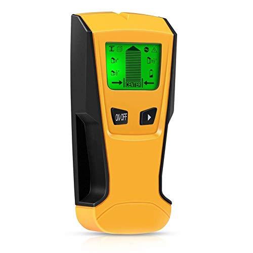 Ortungsgerät,CNMF Leitungssucher 3 in 1 Multidetektor Digitales Stud Finder für Metall Rohre Holz und AC Draht