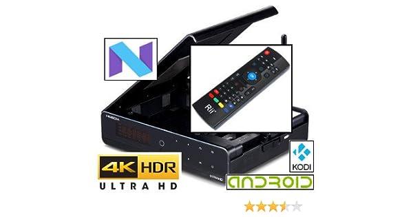 HiMedia Q10 Pro Android 7 'Nougat' Ultra-HD 4K60 HDR: Amazon