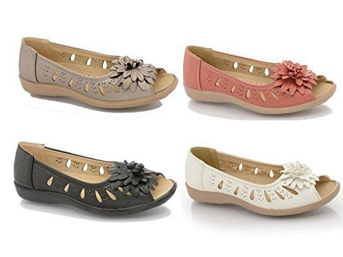 Foster Footwear , Damen Sandalen Normal Rot