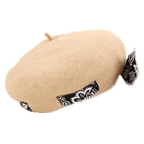 Personalisierte Stricken Hut (JunBo Koreanisch-Barett personalisierte Mode quadratischer Hut)