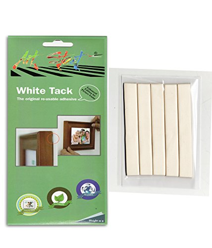 Art street White tack - The original re-usable adhesive for wall photo...