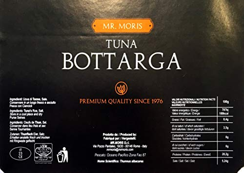 Bottarga di Tonno grattuggiata in vasetto Kosher Mr Moris (50G)