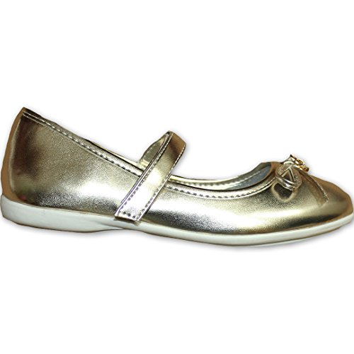 CinkMe , Ballerines pour fille Or