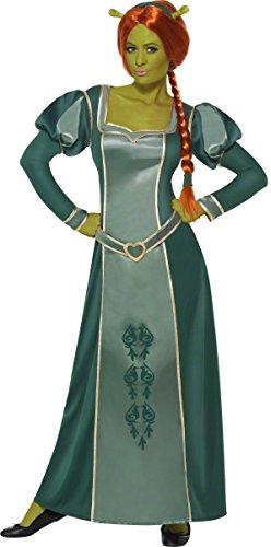 Prinzessin Kind Fiona Kostüm - KULTFAKTOR GmbH Shrek Fiona Comic Damenkostüm Lizenzware grün L
