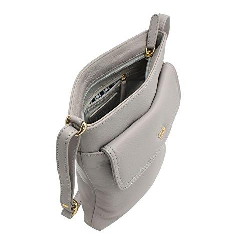 Tula, Borsa a tracolla donna, Mouse (grigio) - 8375 Mouse