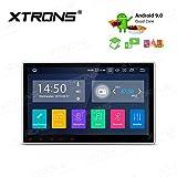 "XTRONS 10"" Single Din Android9.0 Autoradio mit Touchscreen Quad Core Bluetooth5.0 1Din 2GB RAM 16GB ROM DAB OBD2 CAR Auto Play Freisprech TPMS Funktion Lenkradsteuerung UNIVERSAL"