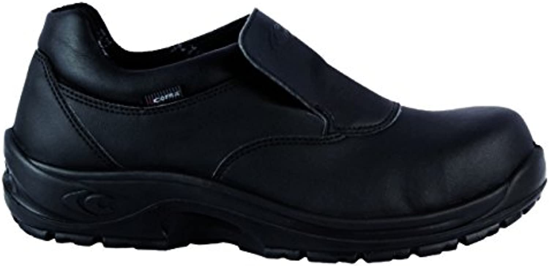Calzado de Seguridad Cofra, Talla 44, Color Negro