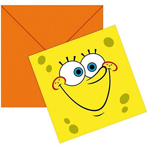 sponge-bob-einladungskarten-mit-umschlagen