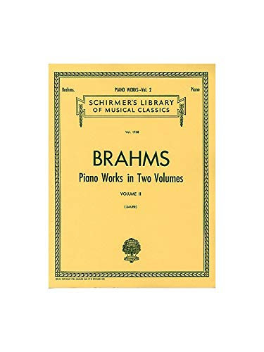 Johannes Brahms: Piano Works Vol. 2 (Sauer) – Sheet Music