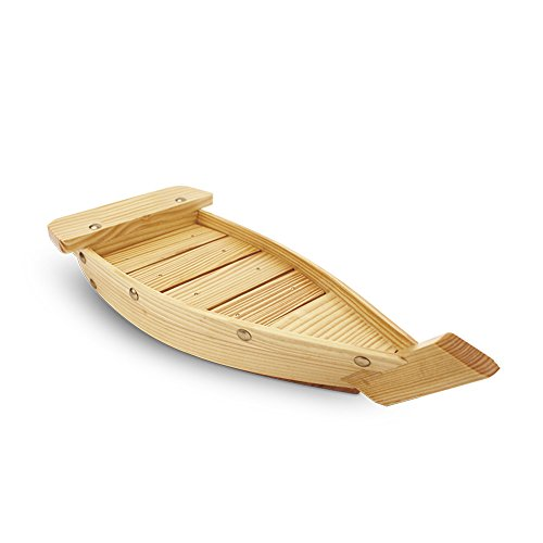 Huangyifu - Mini barque de présentation pour sushis