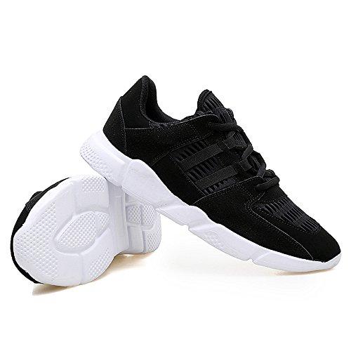 Herren Erwachsene Sneakers Herren Sportschuhe Freizeitschuhe Laufschuhe Turnschuhe Straßenlaufschuhe Weiß