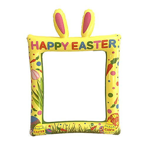 Joyibay Photo Booth Prop Cute Bunny Inflable Selfie