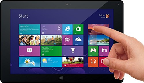 Odys Wintab 10 25,7 cm (10,1 Zoll) Tablet-PC (Intel Atom Quad Core Z3735F, 2 GB RAM, 32 GB HDD, Intel Gen7, HD IPS Bildschirm (1280 x 800), Windows 8.1, Micro HDMI, USB, Micro SD, BT 4.0) schwarz
