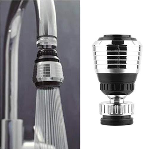 WJHW Wasserhahnfilter für Trinkwasser Faucet 360° drehen Mount Wasserhahn Wasserfilter für Trinkwasser in der Küche mit Adapter-Wasseraufbereitungs Saving Tap Diffusor K¨¹Che Zubeh?r Filter