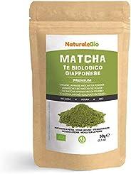 Té Verde Matcha Orgánico Japonés En Polvo [ Calidad Premium ] 50g. Matcha Biológico Cultivado En Japón, Uji, K