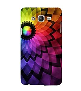 Multi Colour Design 3D Hard Polycarbonate Designer Back Case Cover for Samsung Galaxy On7 :: Samsung Galaxy On 7 G600FY