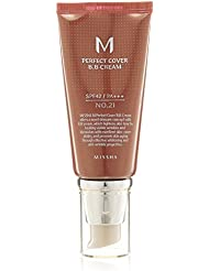 MissHa M Perfect Cover BB Cream – Crème de teint Indice de protection solaire : SPF 42/PA (N° 21/beige) – 50 ml