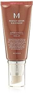 MISSHA M Perfect Cover BB Cream SPF42/PA (No.21/Light Beige) 50ml, 1er Pack