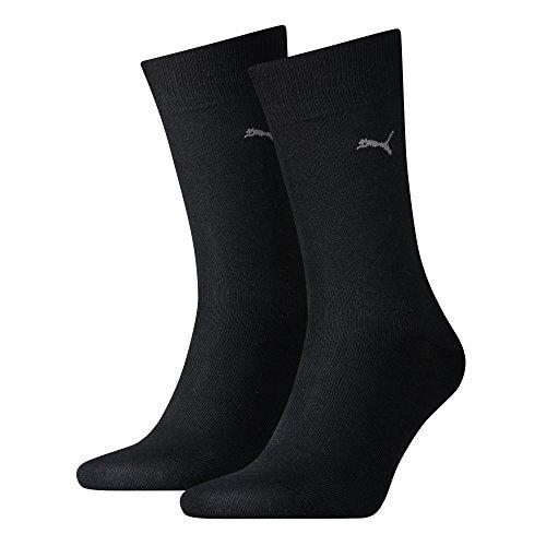 PUMA Herren Classic Casual Business Socken 10er Pack (Black, 10 Paar - 43/46)