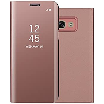 coque samsung a5 2017 or rose
