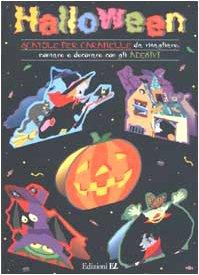 er caramelle da ritagliare, montare e decorare con gli adesivi (Caramelle Di Halloween)