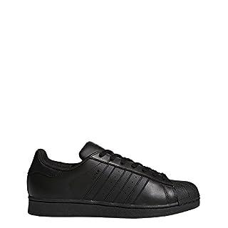 adidas Originals Superstar Foundation Men's Trainers, Black (Core Black), 8 UK (42 EU)