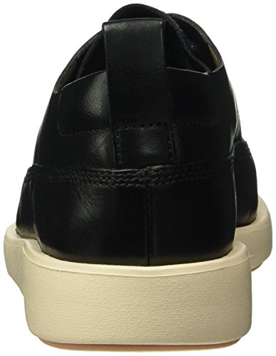 Clarks Tri Nia, Scarpe Stringate Donna Nero (Black Leather)