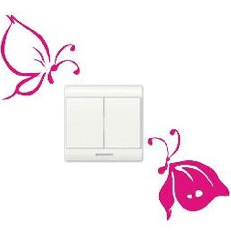 vinilo-decorativo-pegatina-pared-cristal-puerta-varios-colores-a-elegir-mariposas