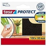 Tesa 57700-00014 - Fieltro adhesivo (100 x 80 mm, 3 unidades)