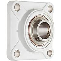 MRC C4F012ZM Flange Unit Non-Relubricatable Composite Non-Expansion ZMaRC Coated Insert 4 Bolt Holes Setscrew Locking Inner Ring Inch 3//4 Bore Diameter 3//4 Bore Diameter